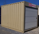 12ft Container with Rollup Door