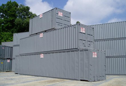 Ground Level Mobile Storage Containers A N Trailer Leasing Inc